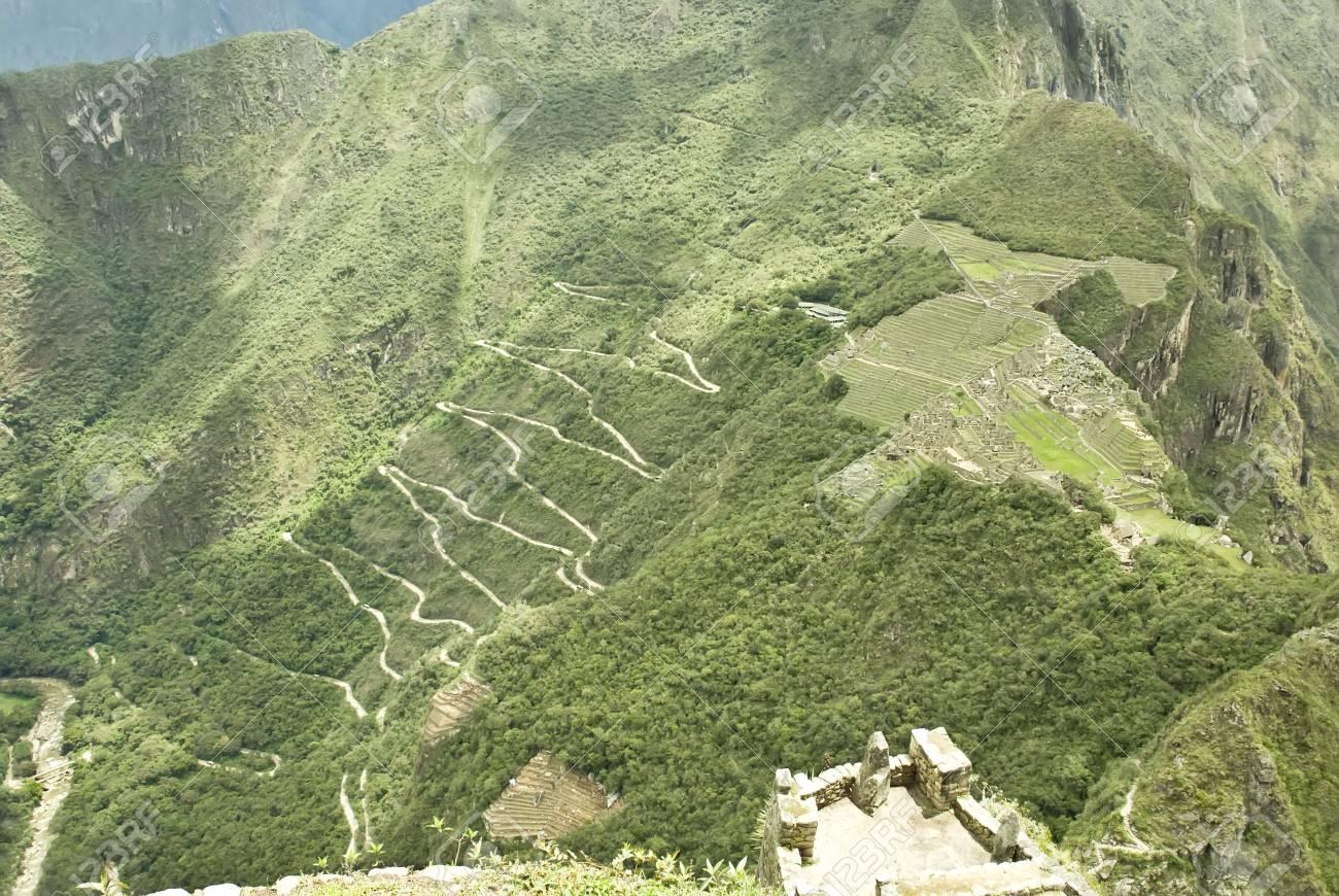 Overview of Machu Picchu, Peru Stock Photo - 5893655