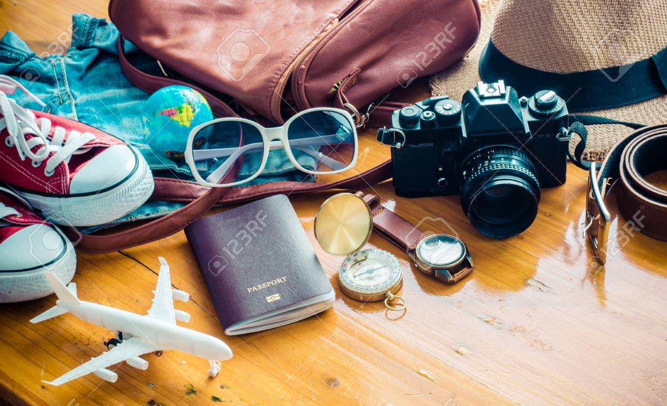 Travel Clothing accessories Apparel along for the trip - 61081407