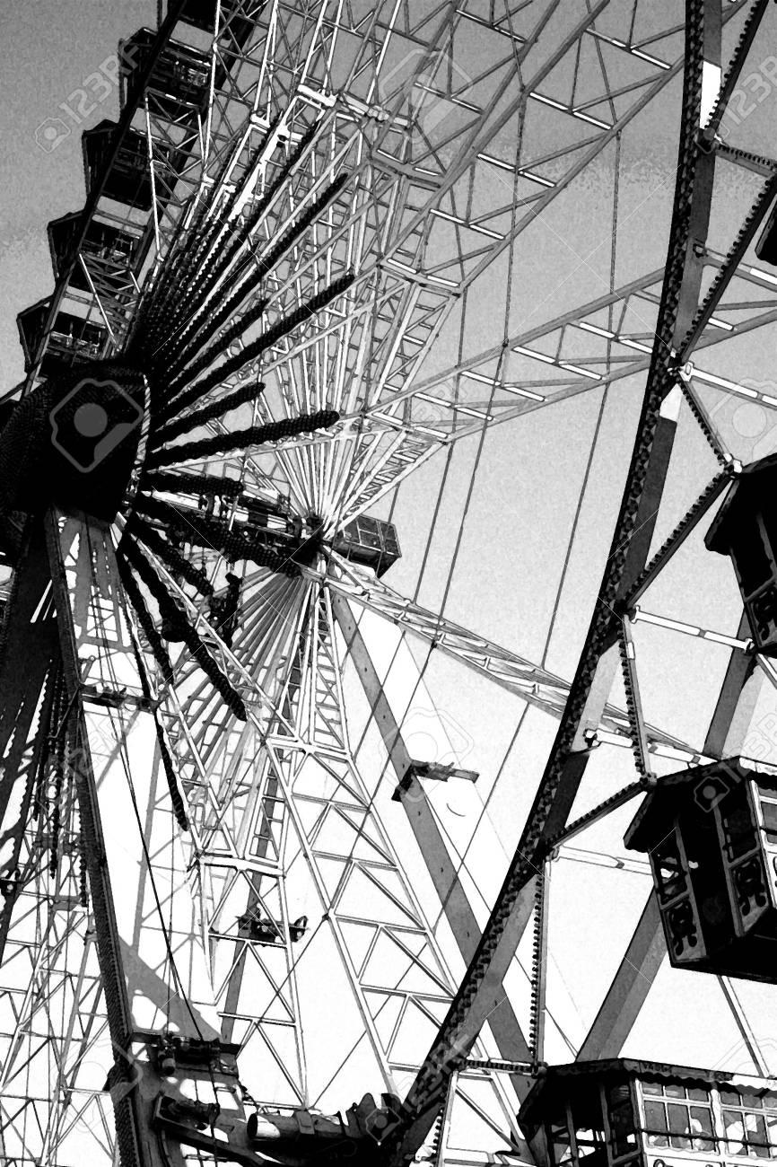 Ferris wheel at the Oktoberfest in Bavaria Stock Photo - 8100959