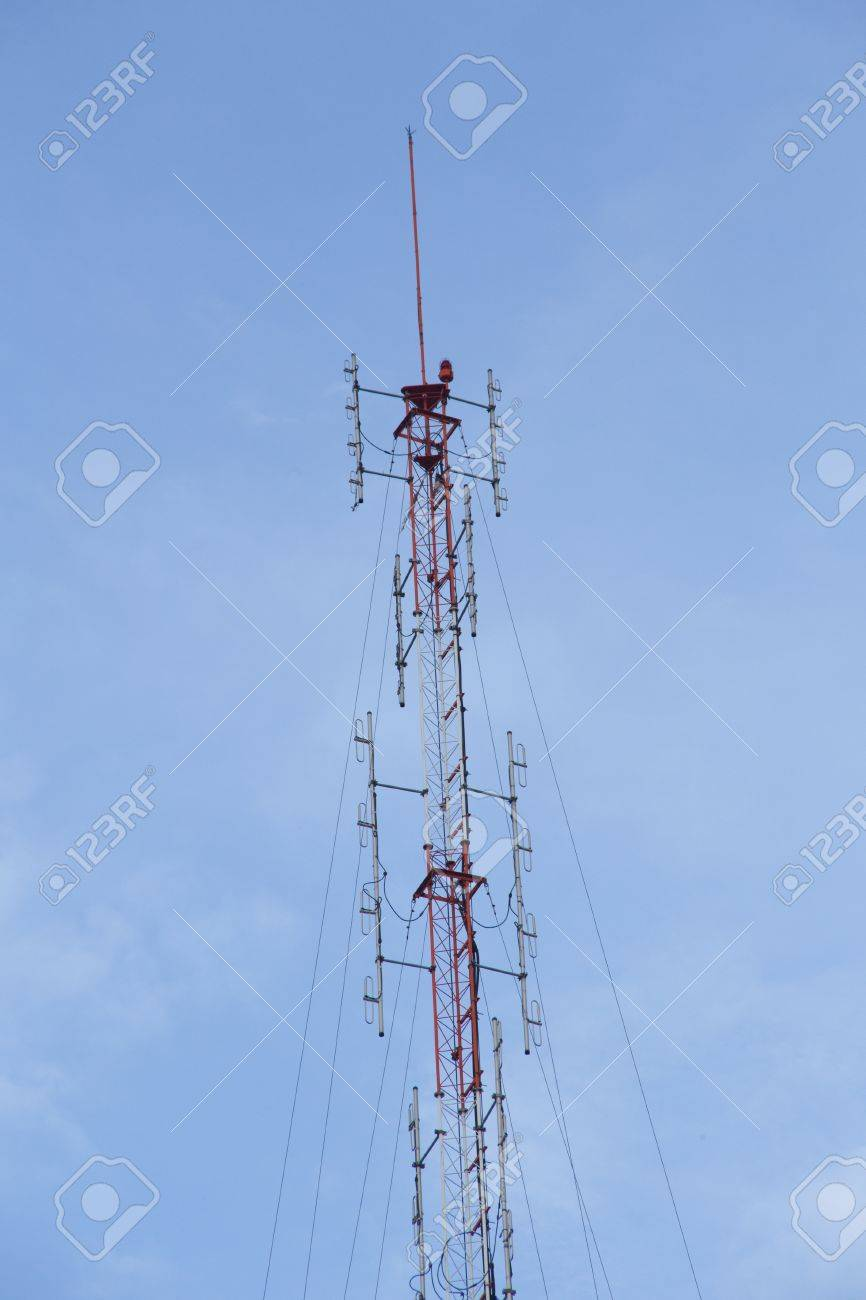 Cell site, Telecommunications radio tower or mobile phone base