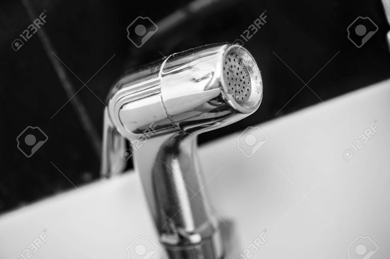 Bidet Shower, Bidet Spray, Bidet Sprayer Or Health Faucet. Stock ...