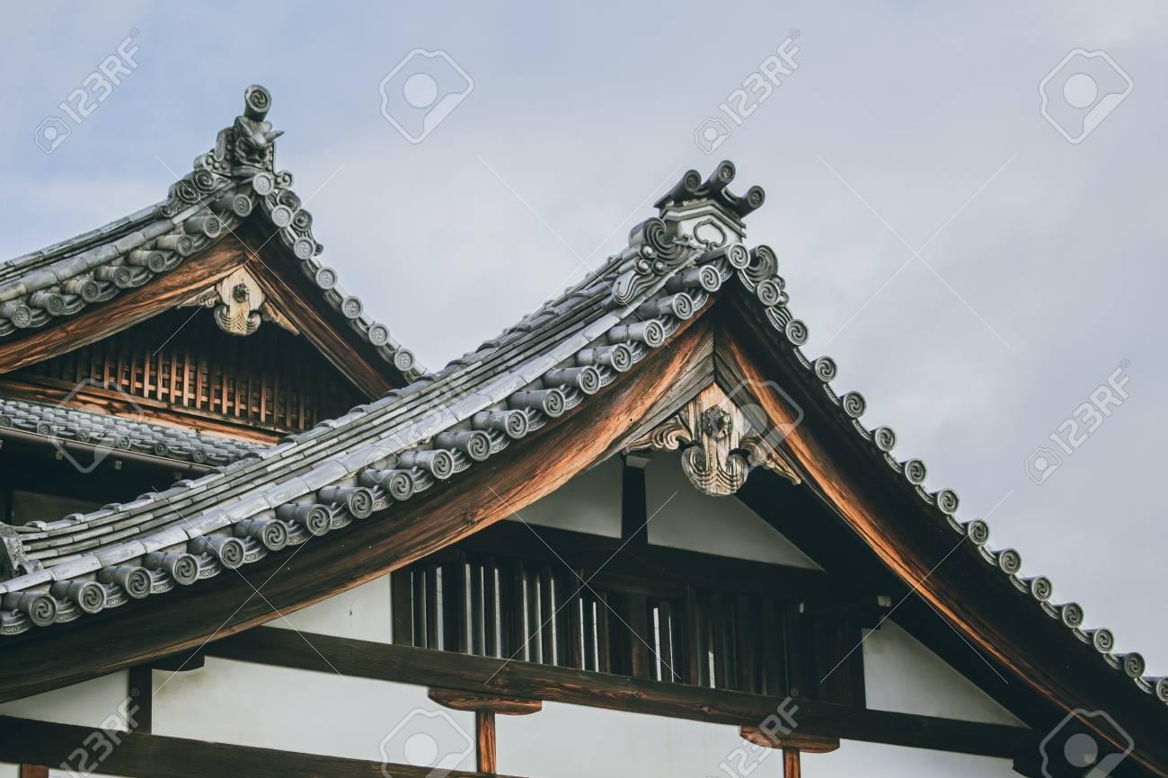 Toit maison japonaise