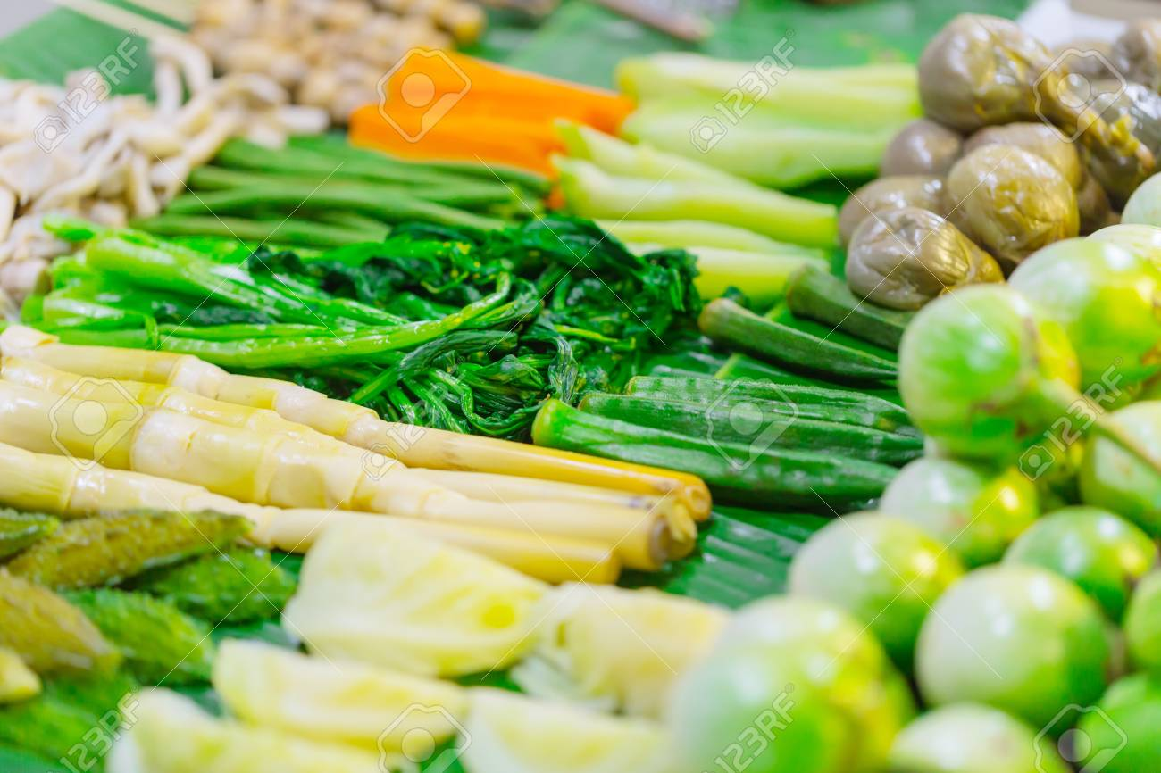 Mix steamed vegetables healthy food of northern thai style vegetable mix steamed vegetables healthy food of northern thai style vegetable side dish recipes stock photo forumfinder Choice Image