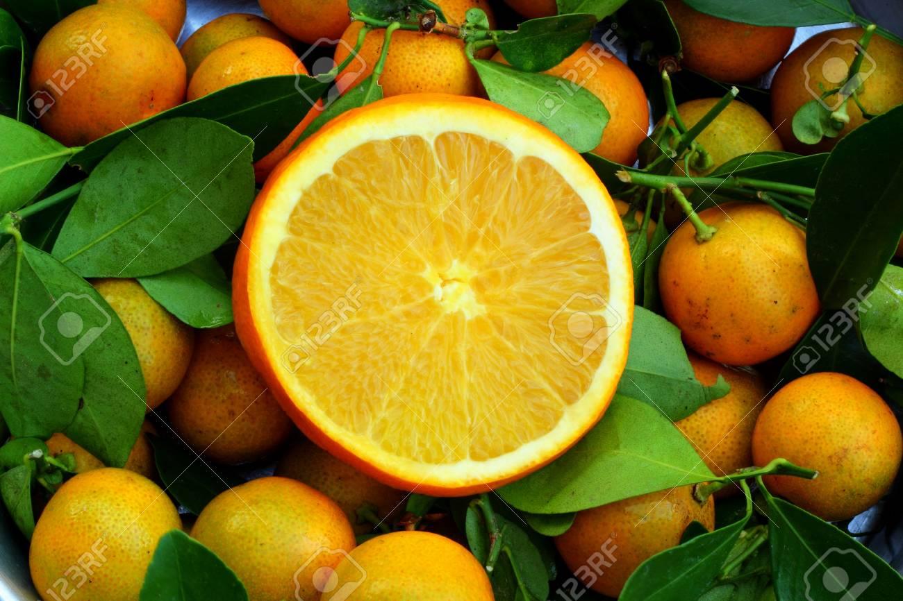 Orange background Stock Photo - 16903530