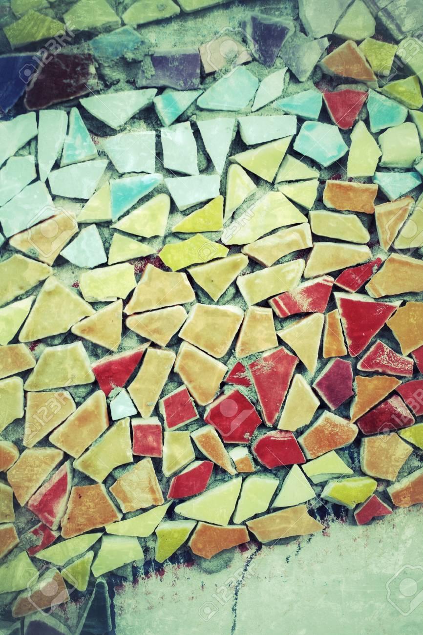 tile mosaics background texture Stock Photo - 24405546