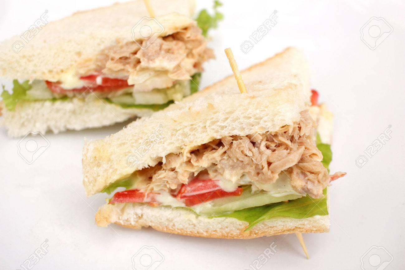 Tuna sandwich Standard-Bild - 47718897