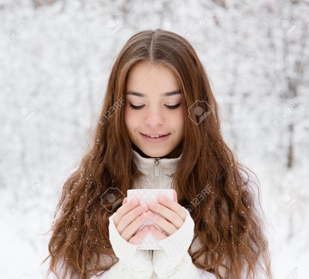 Heißes Mädchen Teenager-Bilder