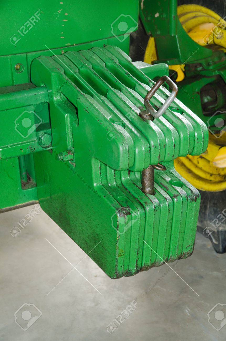 Weights for tractor Stock Photo - 13930189