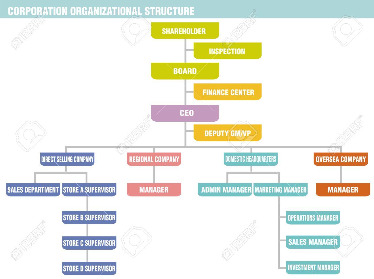 Las Empresas Pueden Tener Muchas Estructuras De Organización Pero La Estructura De La Organización De Sociedades Más Típica Consiste En Que El