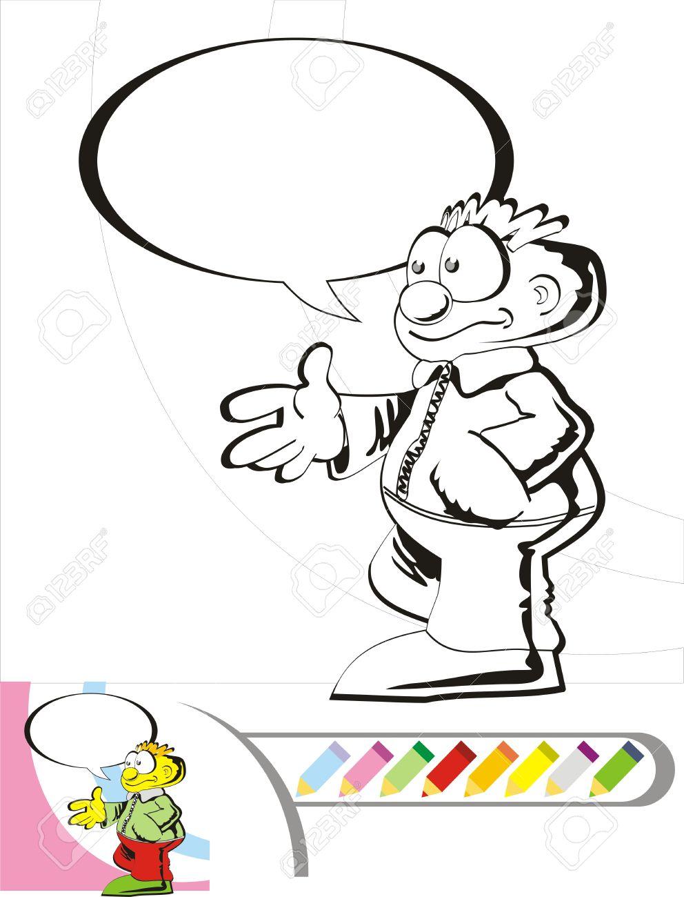 Chico Grande Para Colorear. Finn Mc Missile. Imprimir Dibujo De ...