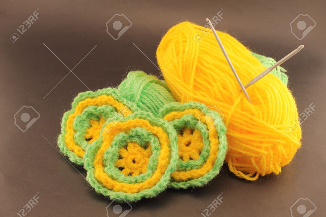 Fun Crafts To Do At Home Flowers Woven Wool Crochet Using Wool
