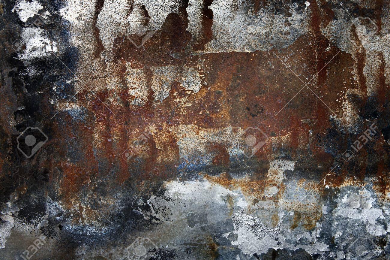 Rusty metal background. Grunge background. Stock Photo - 7321179