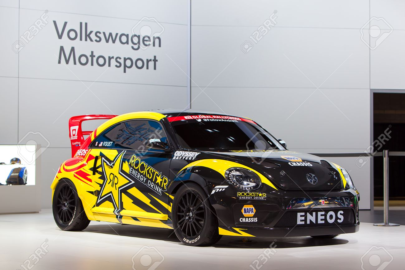 CHICAGO - FEBRUARY 7 : The Volkswagen Rockstar Energy Drink race