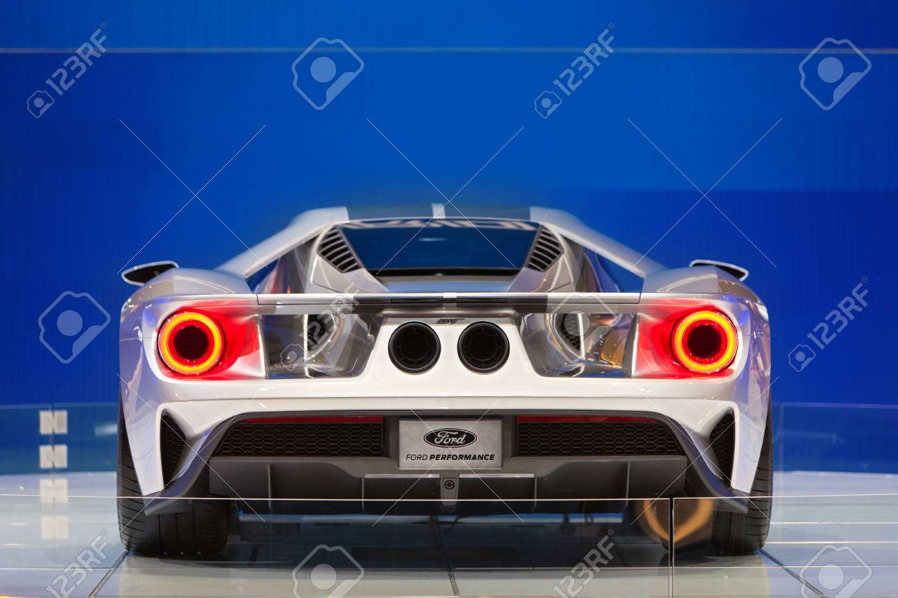 Chicago February  The Back Side Of The New Ford Gt February Th