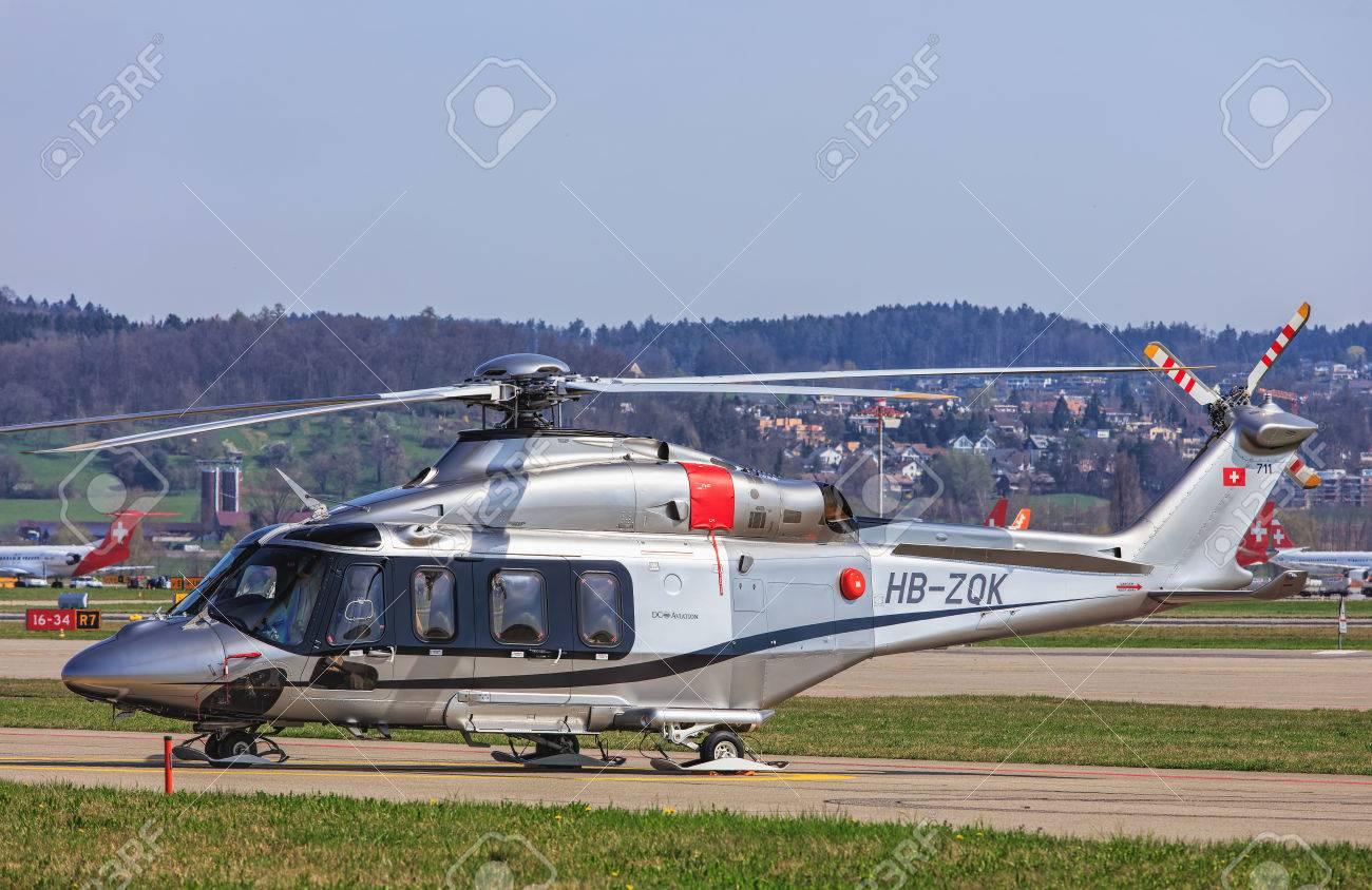 Elicottero 139 : Kloten switzerland 29 march 2017: an agustawestland aw 139
