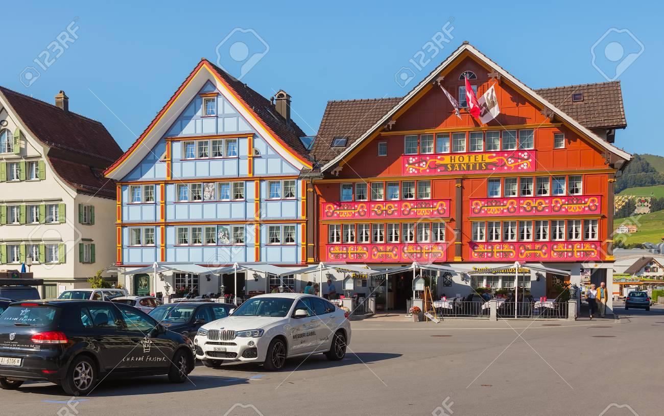 Appenzell Switzerland September 20 2018 Landsgemeindeplatz