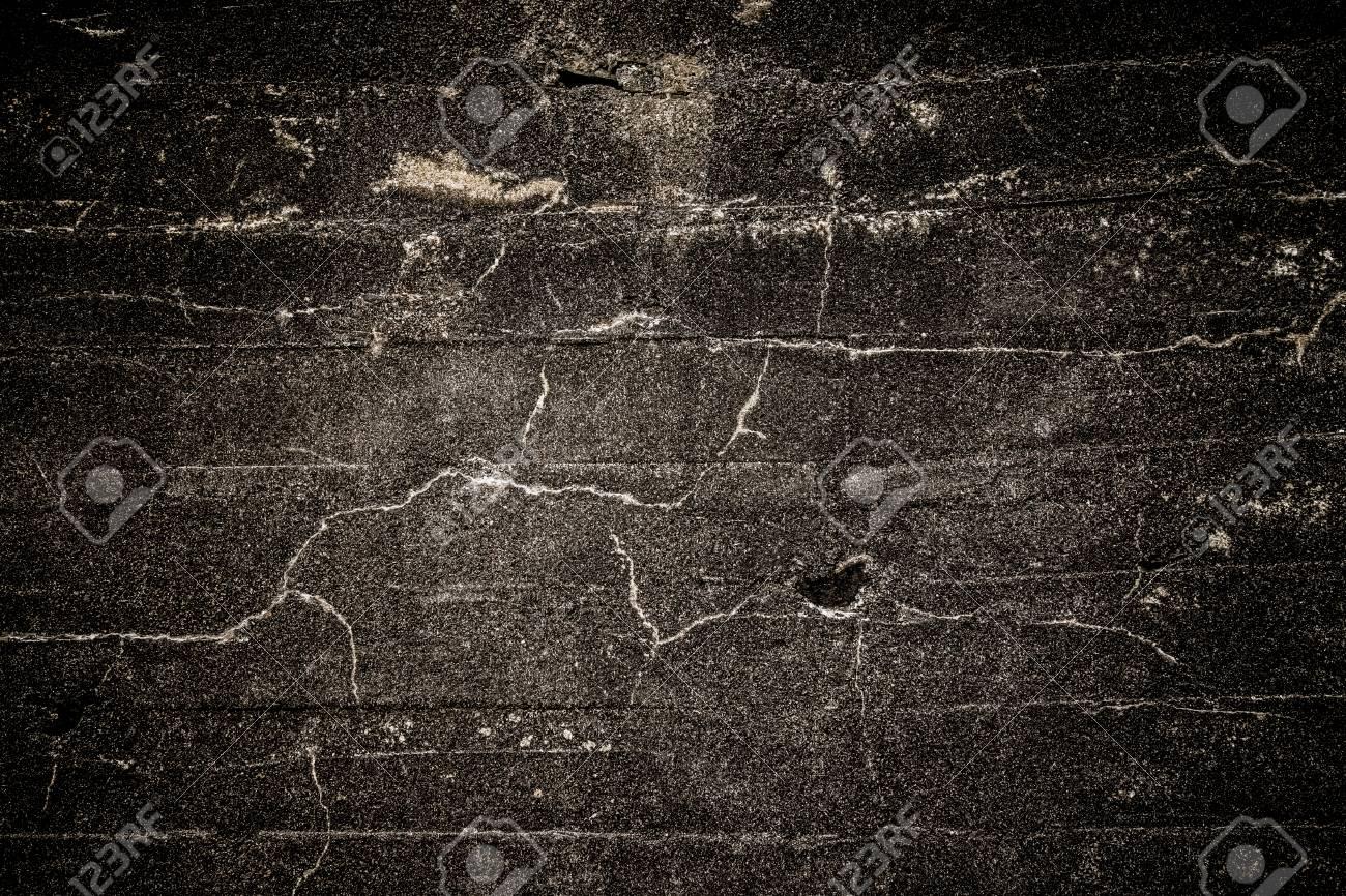 Alte Dunkle Wand Hintergrund Grunge Textur Schwarzbraune Tapete