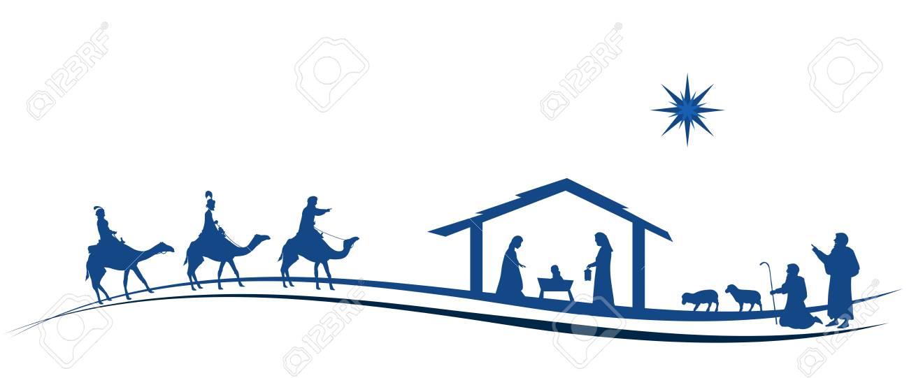 Hirten Bilder Weihnachten.Stock Photo