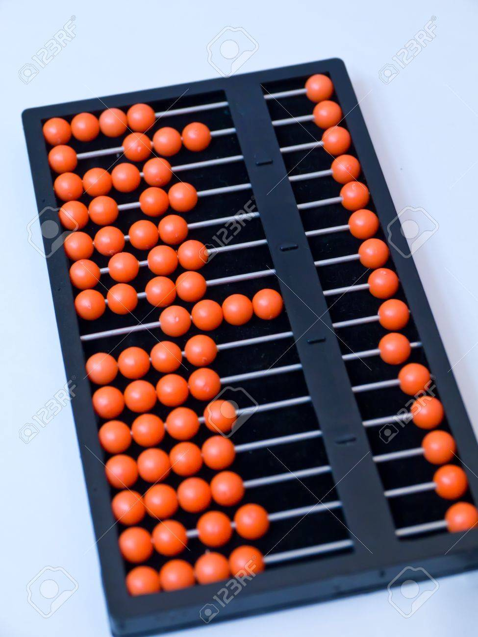 Abacus for blind people Stock Photo - 16565394