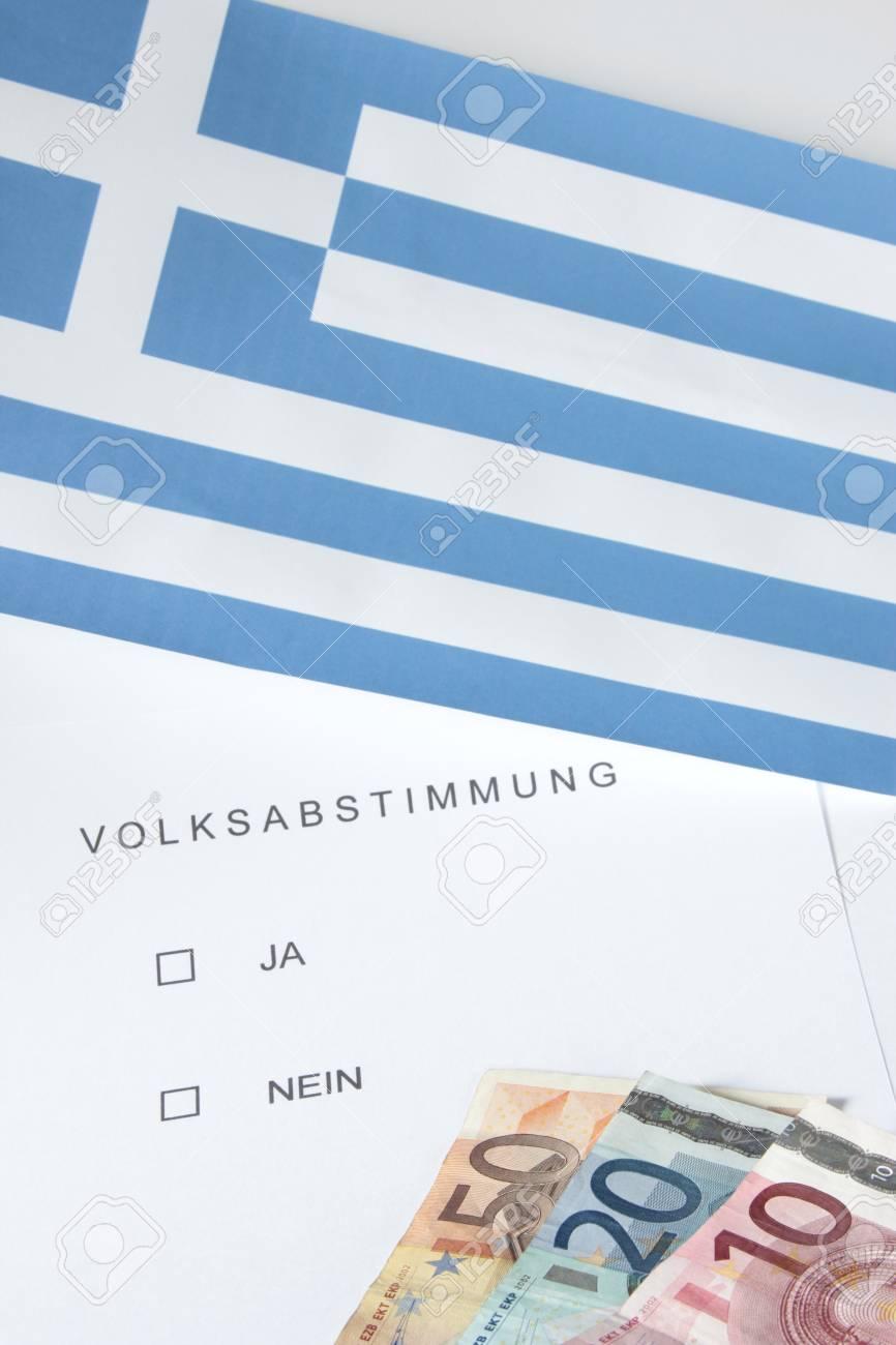 symbol photo: popular vote in Greece Stock Photo - 11213004