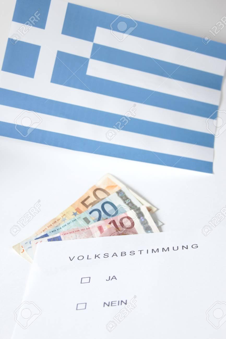 symbol photo: popular vote in Greece Stock Photo - 11212999