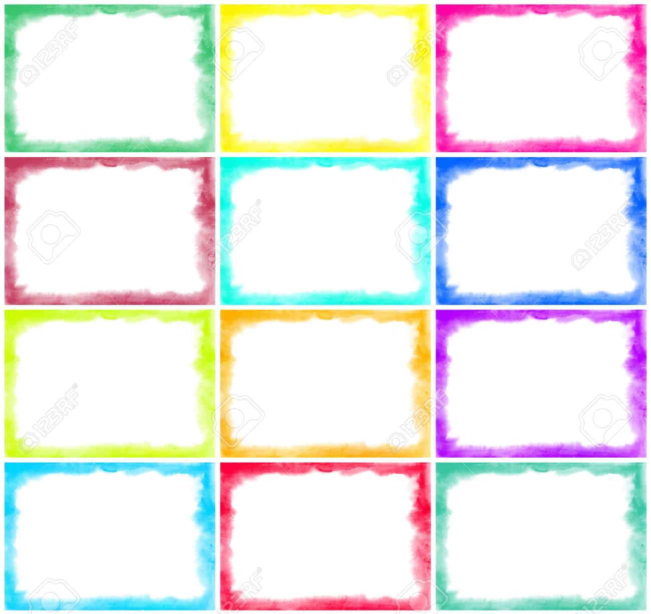 Único Bordes Amarillos Y Marcos Ornamento - Ideas Personalizadas de ...