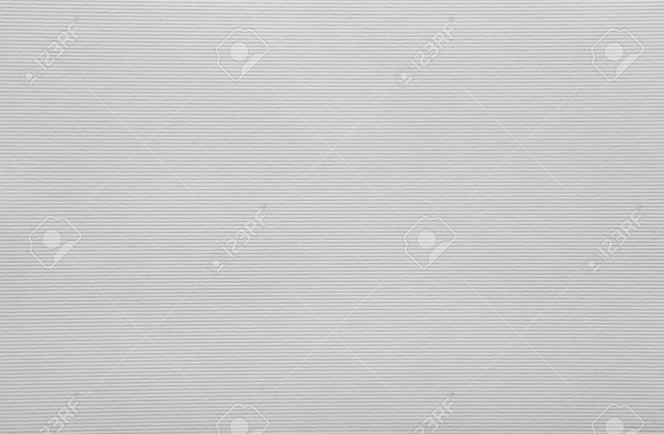 White textured horizontal striped paper sheet for handiwork and scrapbooking - 147495792