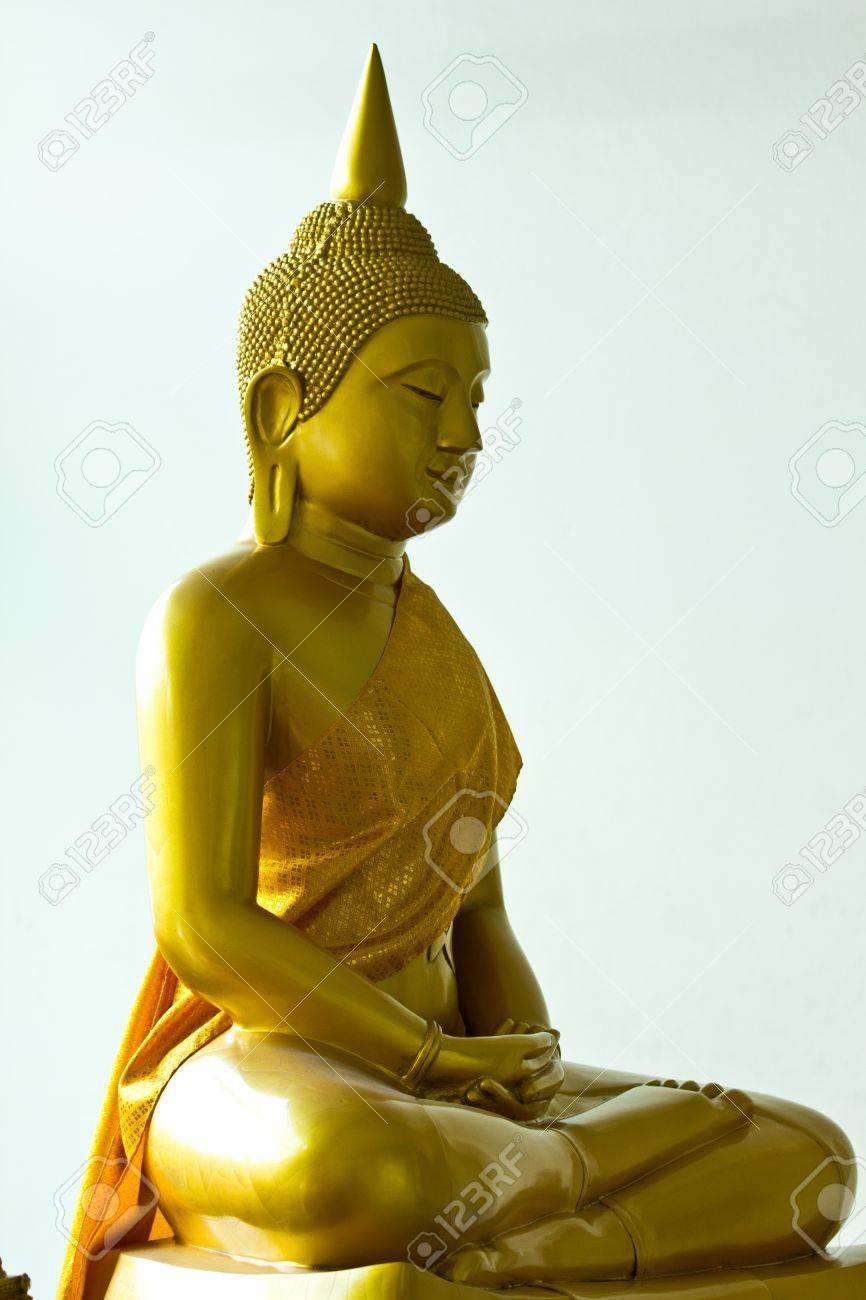 Sitting Buddha, Bangkok Stock Photo - 10536677