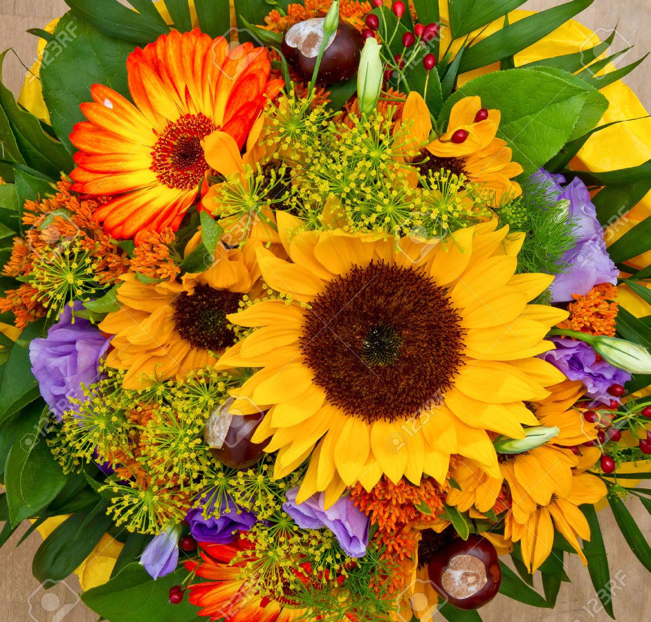 Colorful Flower Bouquet Stock Photo, Picture And Royalty Free Image ...