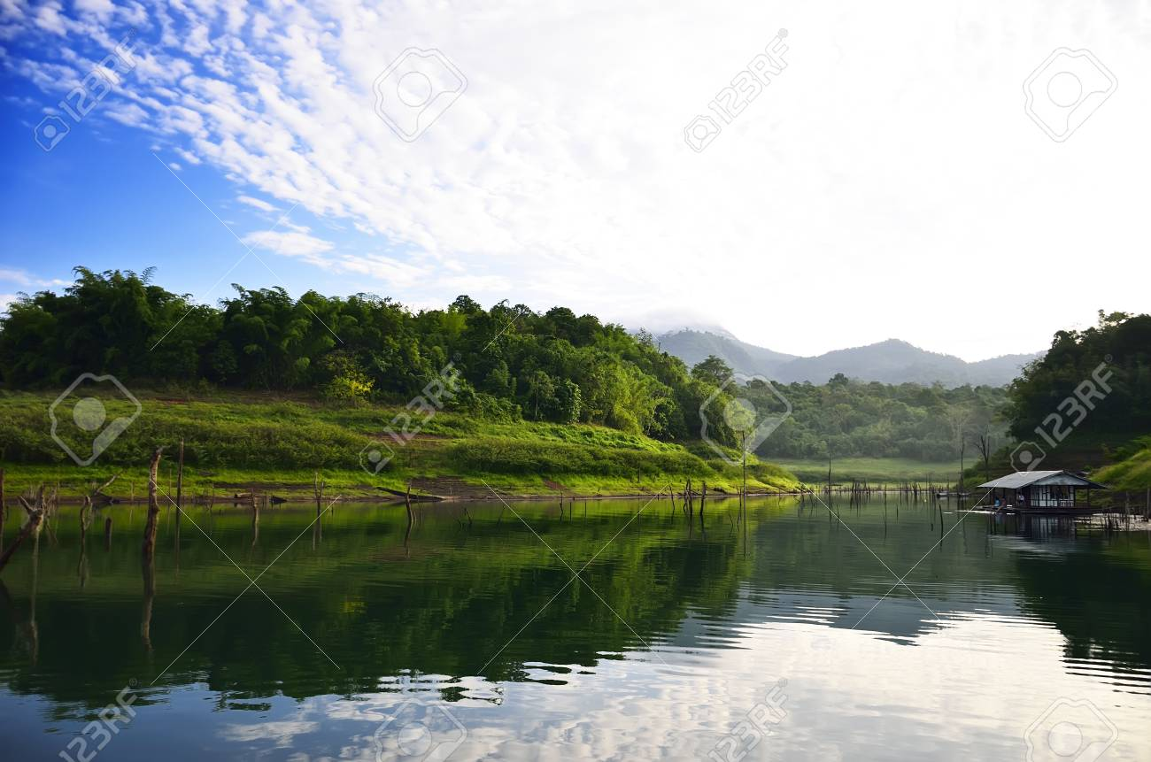 Pom pi national park in thailand Stock Photo - 10059547