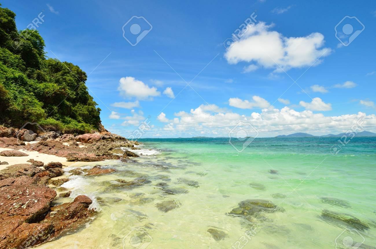 Thailand famous island Ko Talu sea landscape Stock Photo - 13520816