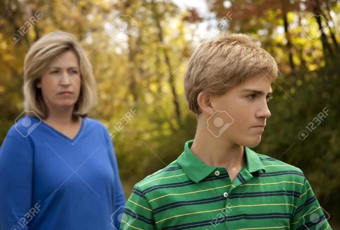 Mother and Son at Odds - 7172110