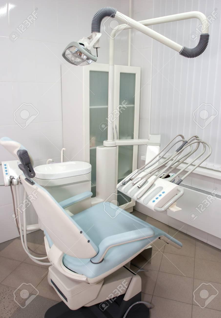 Chaise De Dentiste Moderne Dans Un Cabinet Mdical Banque DImages