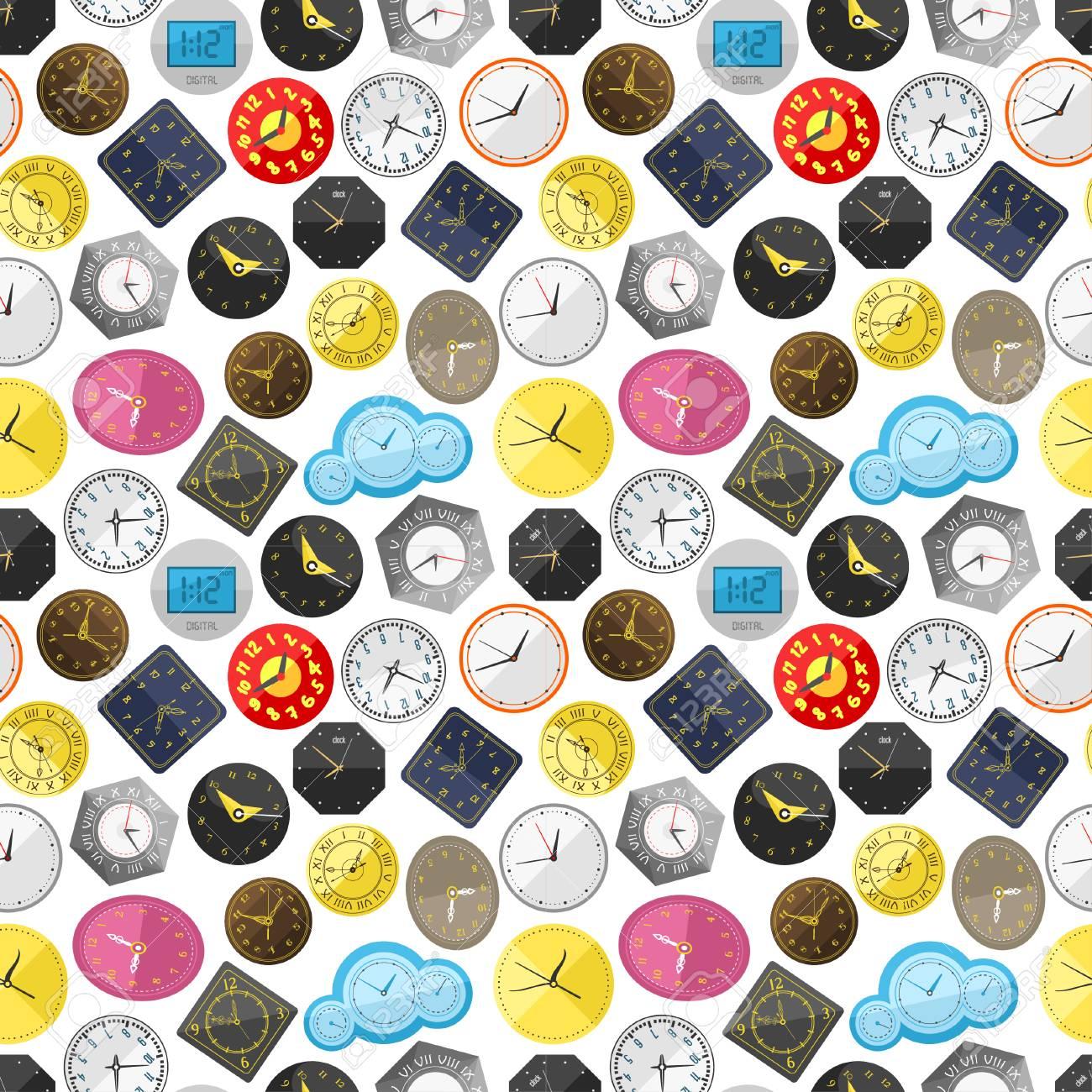 Time background illustration. - 69017546
