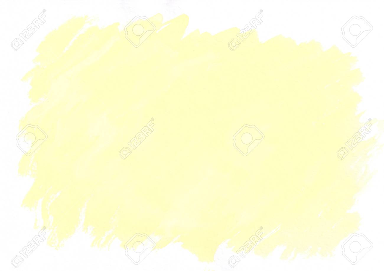 Light Yellow Watercolor Gradient Brush Strokes Beautiful Abstract Background Its Useful For Graphic Design Backdrops Prints Wallpaper And Etc