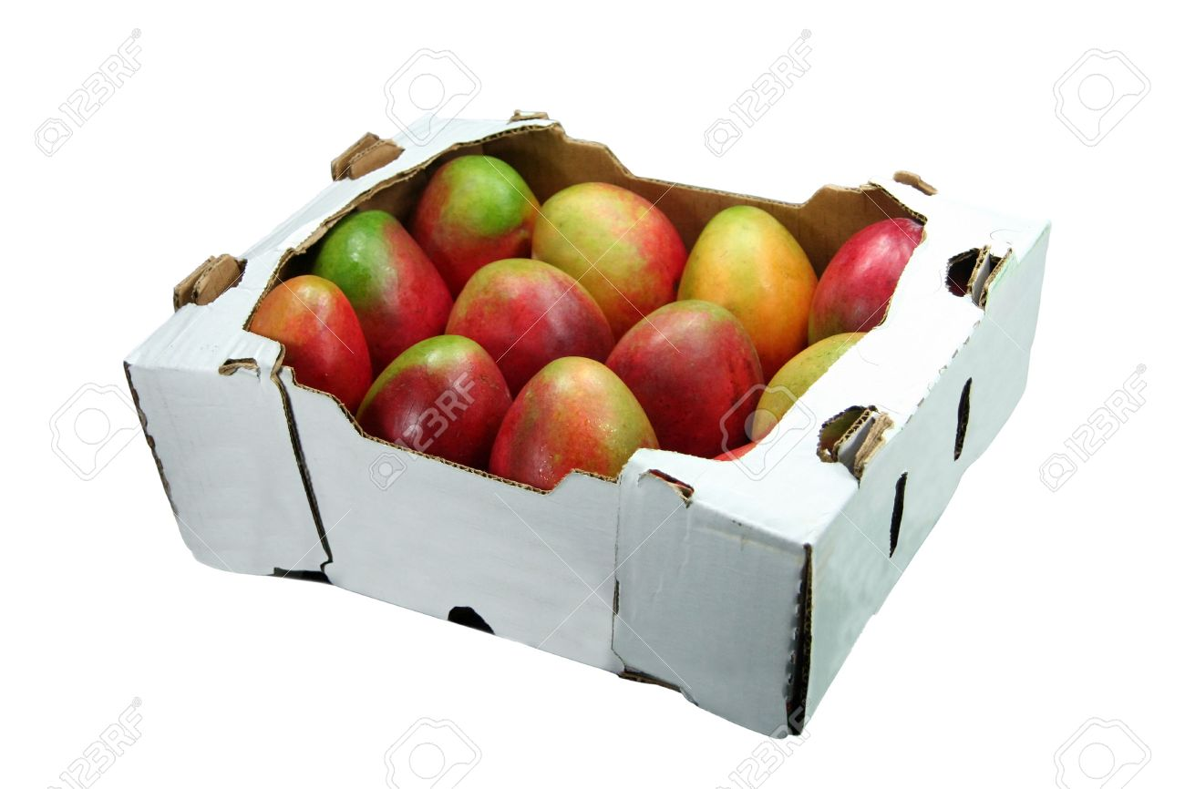 one box mangoes