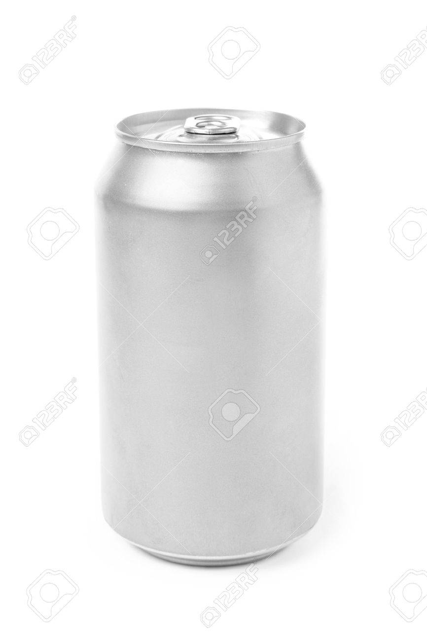 blank soda can with white background Stock Photo - 967771