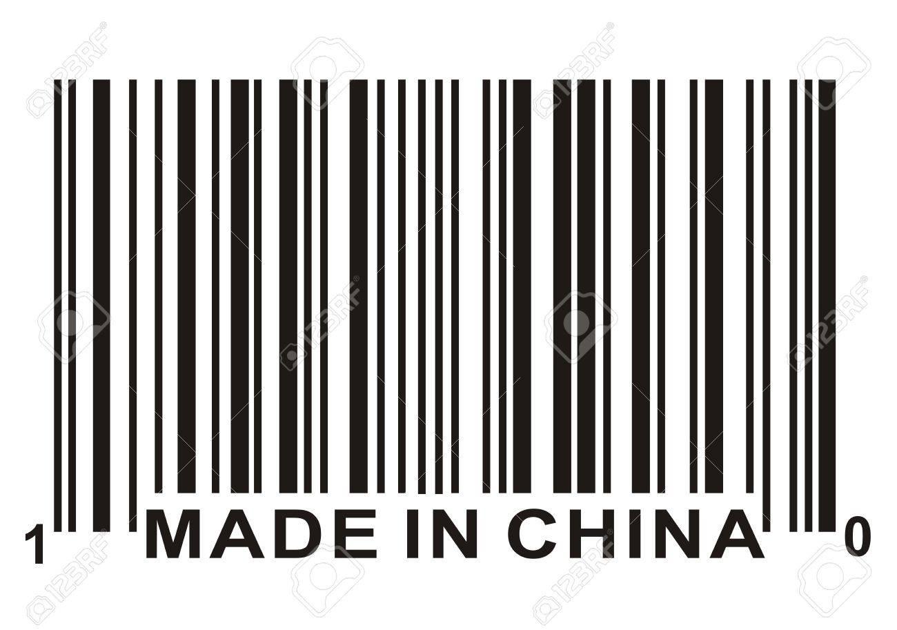 Faites en chine et en code barres concept commercial banque d banque dimages faites en chine et en code barres concept commercial thecheapjerseys Choice Image