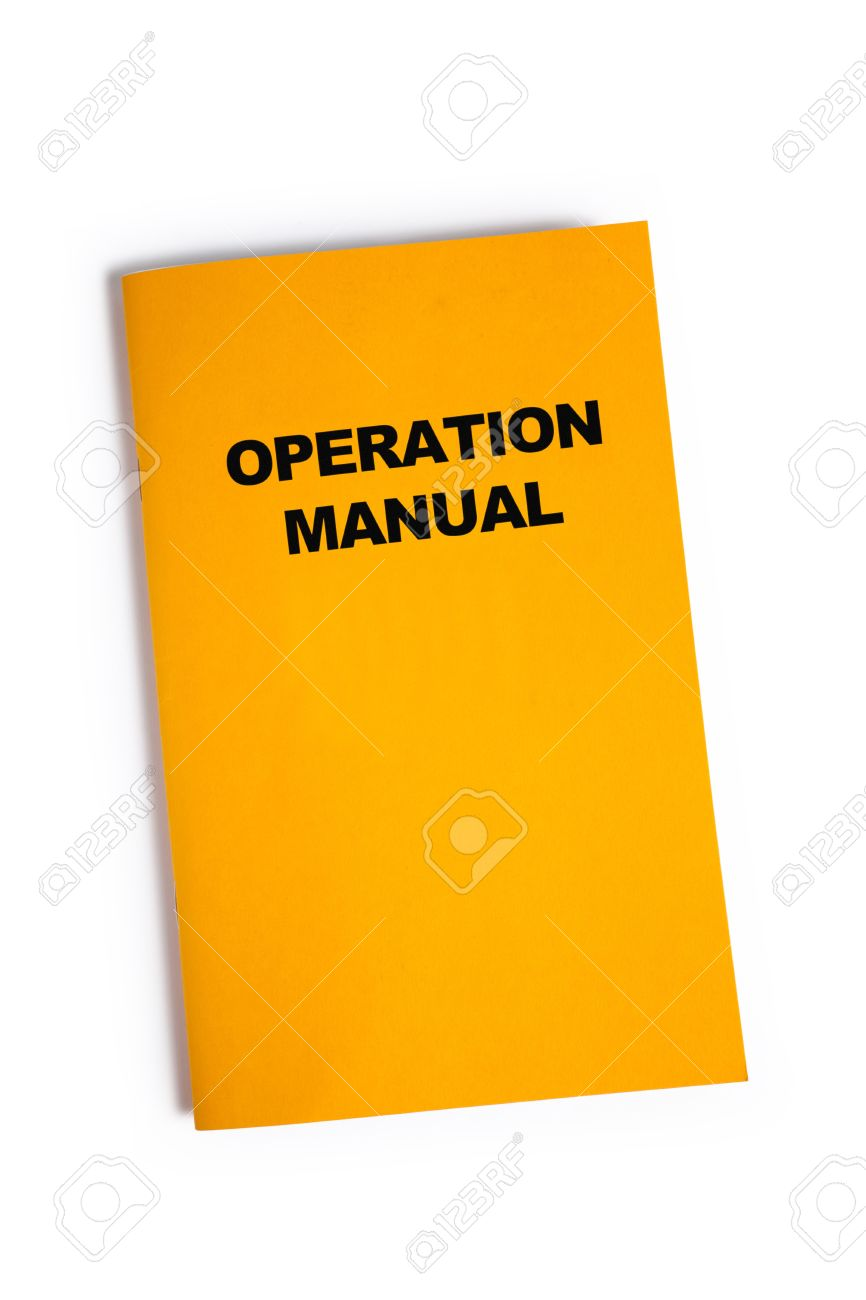 Operation Manual With White Background Photo Picture And – Operation Manual