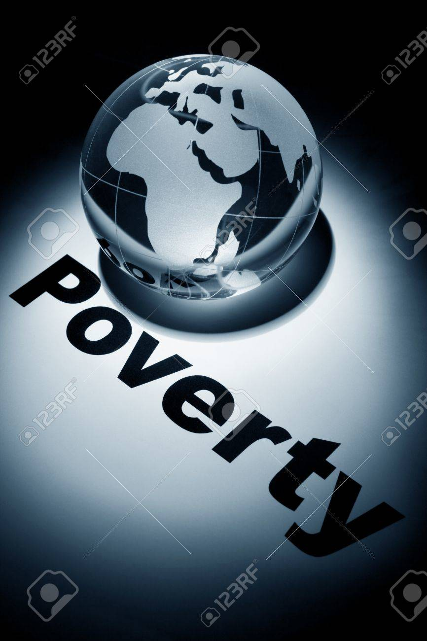 globe, concept of Global Poverty issues Stock Photo - 9987148