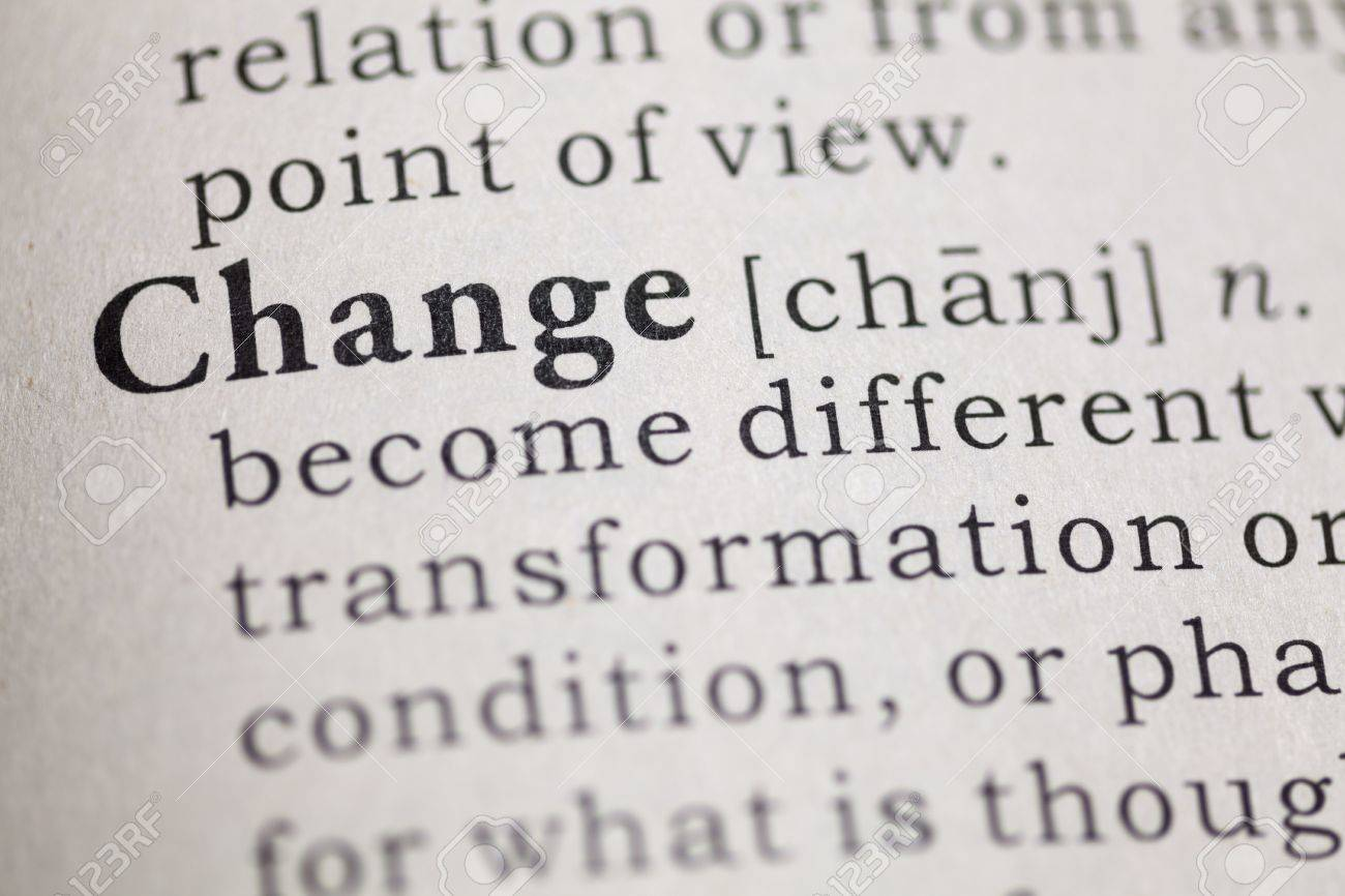 Dictionary definition of the word change Fake Dictionary - 20098043