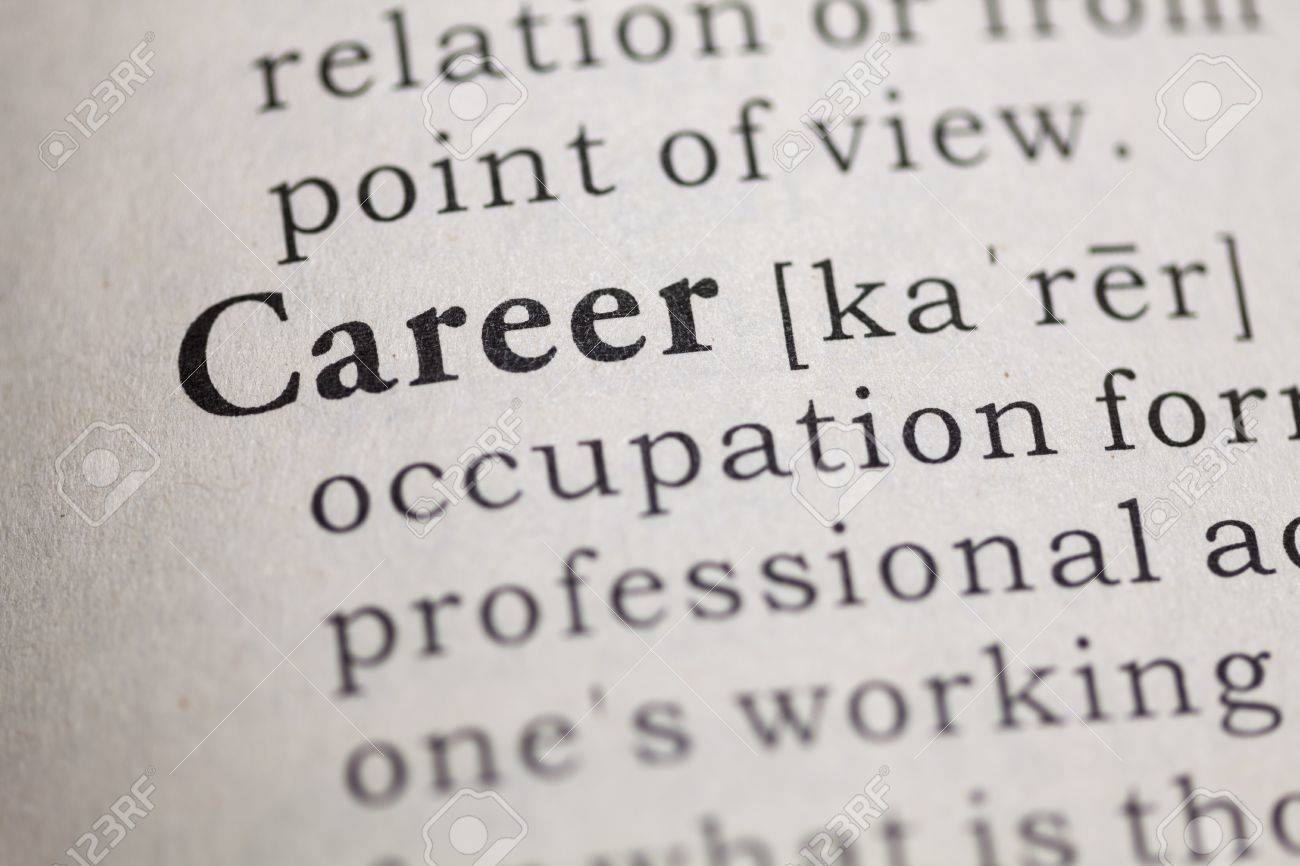 dictionary definition of the word career stock photo picture and dictionary definition of the word career stock photo 22898091