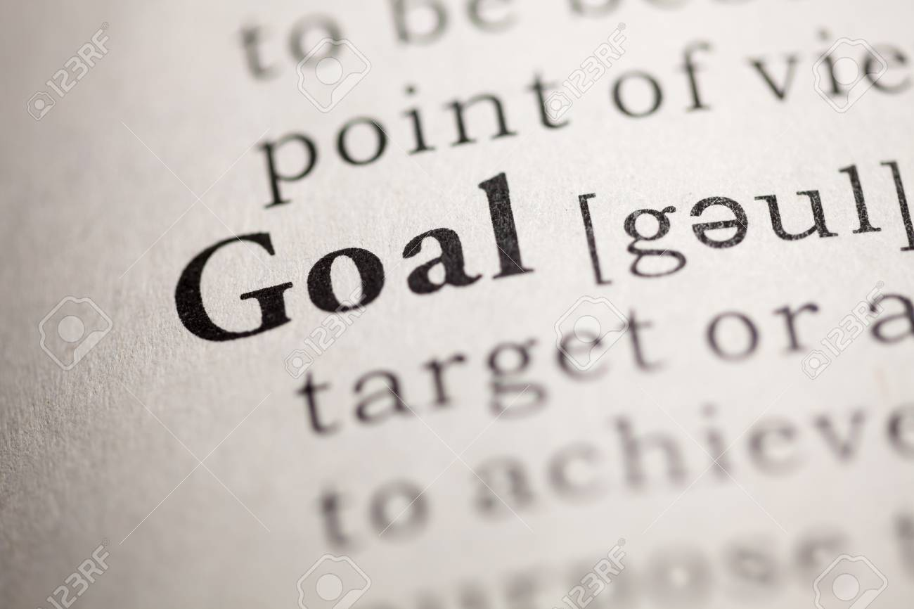 Fake Dictionary, Dictionary definition of the word Goal