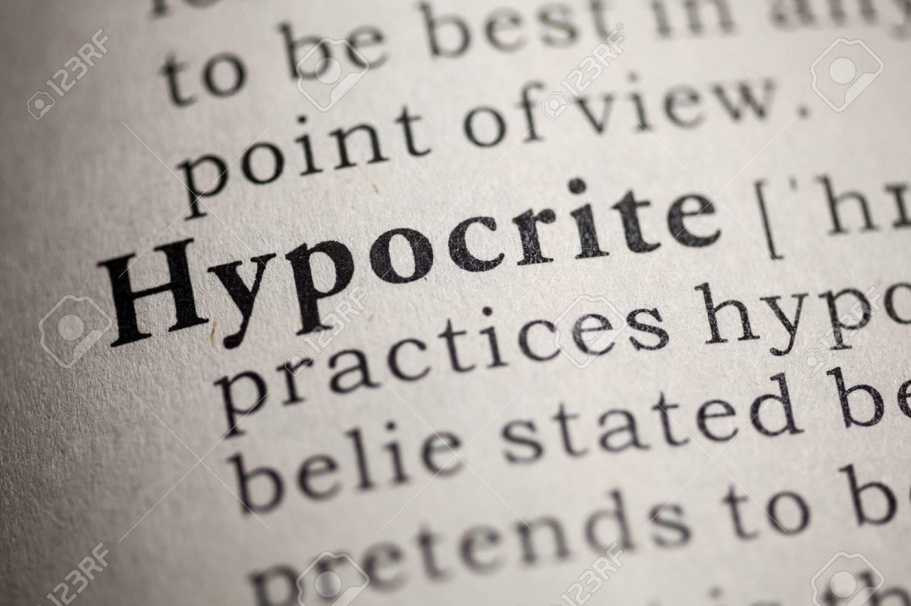 hypocrites essay