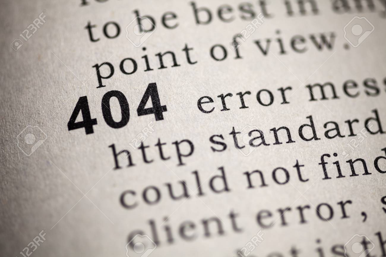 Fake Dictionary, Dictionary definition of the word 404 - 25705513
