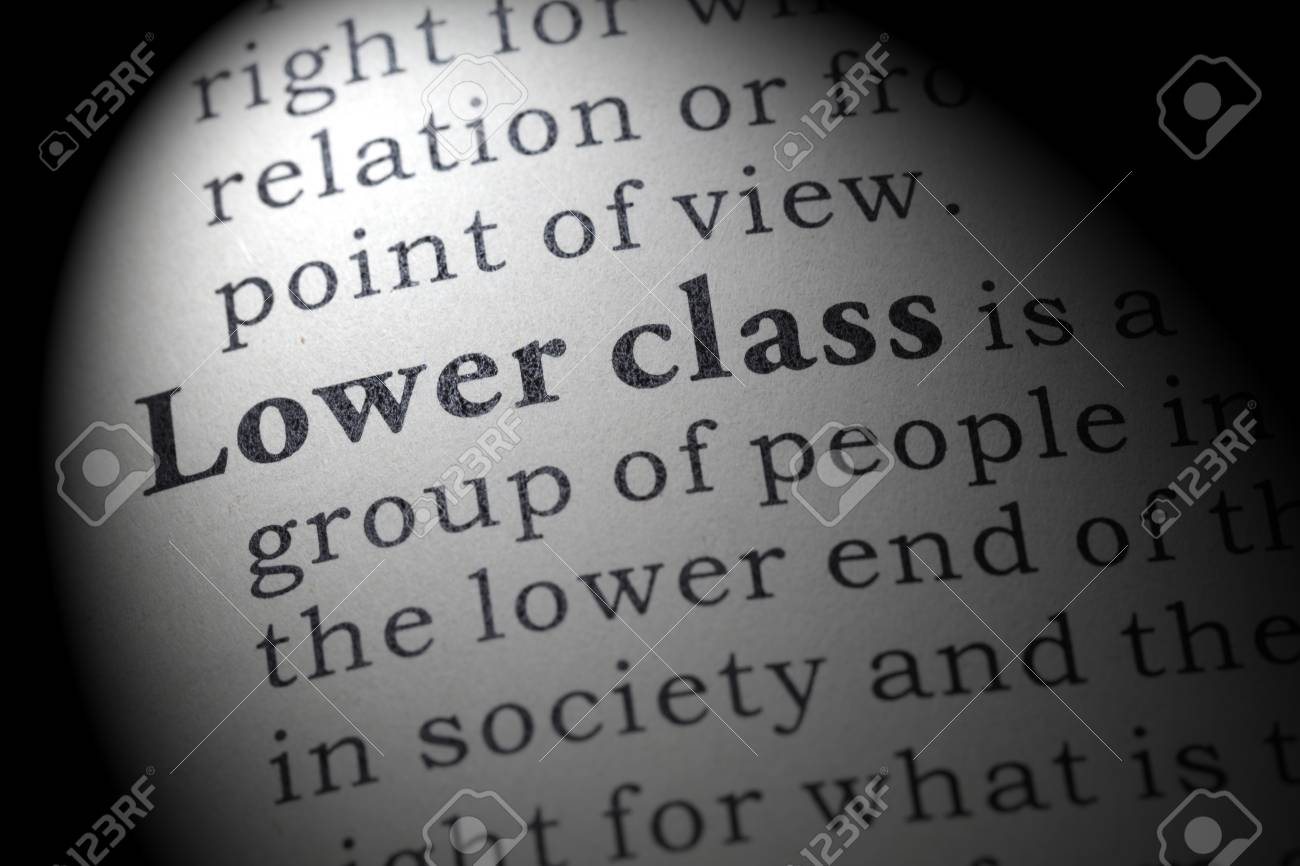 Fake Dictionary Dictionary Definition Of The Word Lower Class
