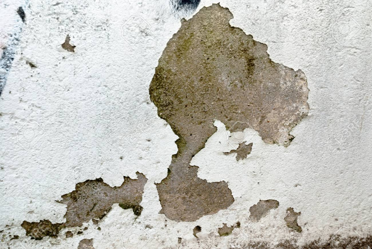 Old wall with scratch, old paint, wall texture