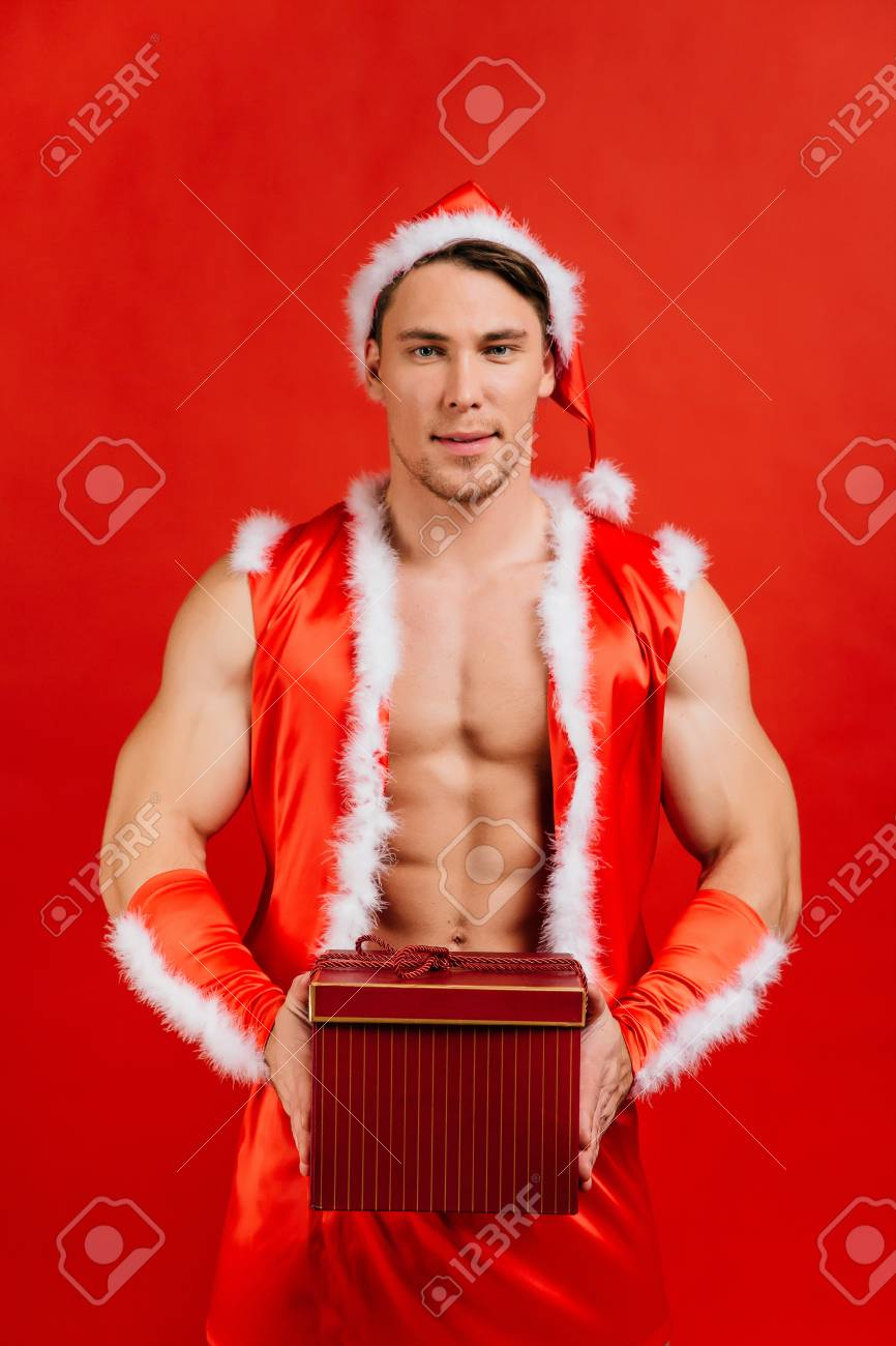 Holidays Celebrations New Year Christmas Sexy Fitness Santa