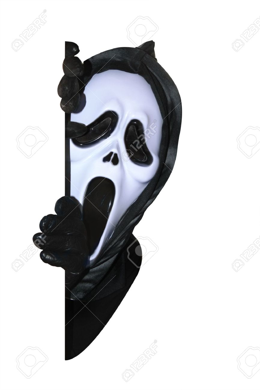 Ghost Mask Stock Photos & Pictures. Royalty Free Ghost Mask Images ...