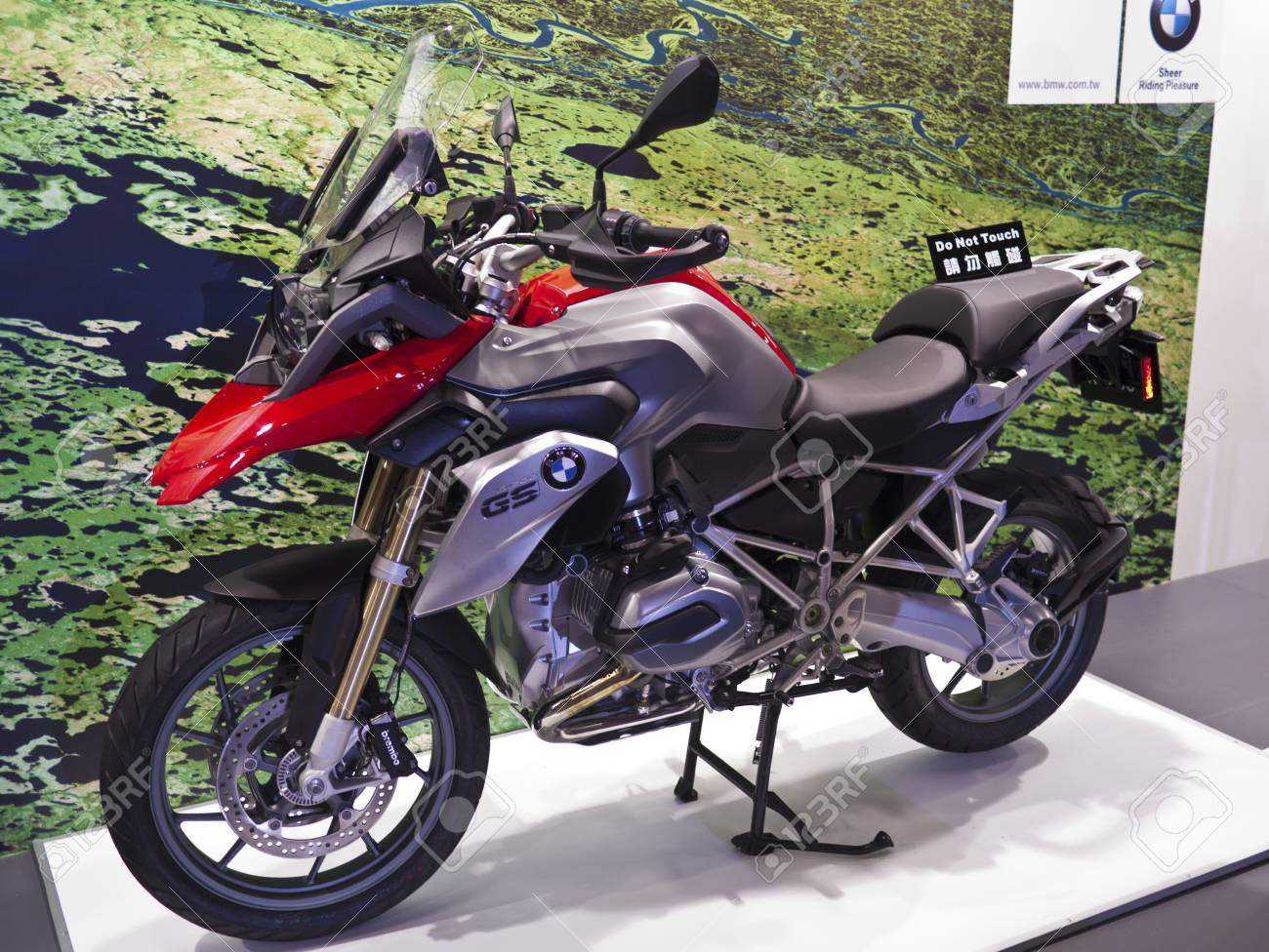 Trade Motorcycle For Car >> Taipei Taiwan December 21 Bmw Heavy Motorcycle Gs In 2013